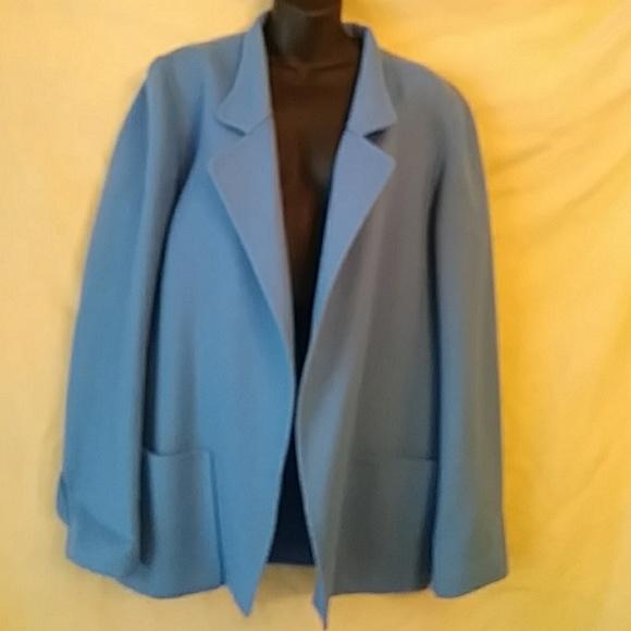 Ellen Tracy Jackets & Blazers - Ellen Tracy Linda Ballard blue wool blazer-sz 10